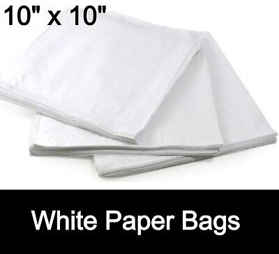 SULPHITE  WHITE PAPER BAGS 10