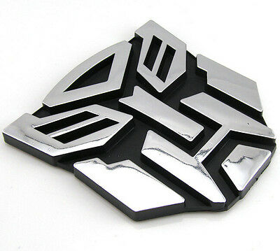 NEW Transformers Autobot 3D Logo Emblem Badge Graphics Decal Car Sticker Decal