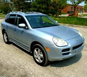 2006 Porsche Cayenne s TITANIUM with valid safety