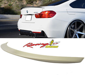 2014-2017 BMW F32 4 Series P Style Rear Trunk Spoiler