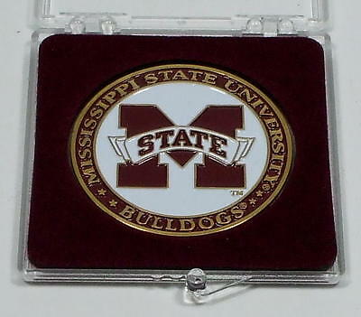 MISSISSIPPI STATE BULLDOGS FOOTBALL COLLECTORS COIN