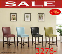 Clearance & discounts on, benches, chaises, chairs, stools, desk