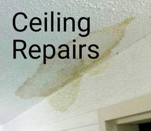 Textured ceilings made smooth