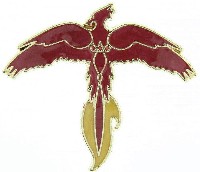 Loot Crate Harry Potter Fawkes Phoenix Enamel Pin