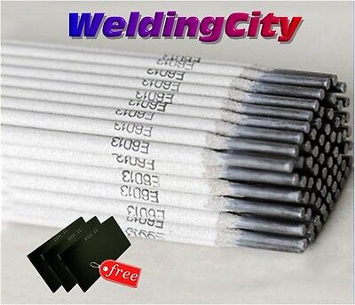Weldingcity 5-lb E6013 332 Stick Welding Electrode Mild Steel Rod W Free Lens