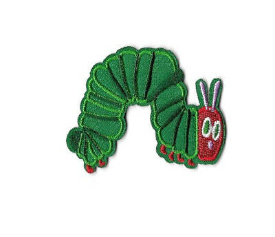 Caterpillar - The Very Hungry Caterpillar - Embroidered Iron On Applique Patch ](The Hungry Hungry Caterpillar)