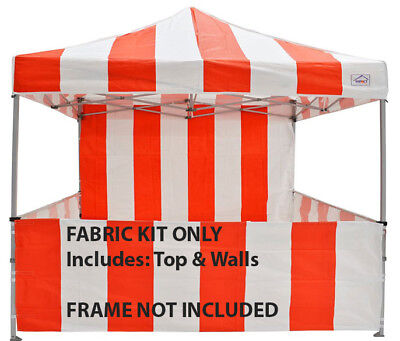 Carnival Fabric Kit for 8x8 Impact Canopy Replacement Top Sidewalls Kit