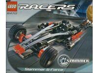LEGO RACERS SLAMMER G-FORCE 8470 **NEW**