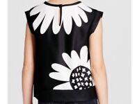 Victoria Beckham sleeveless designer Daisy top