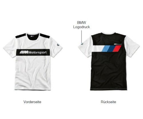 Original BMW M Motorsport T-Shirt Herren Logo Kollektion 2019 *NEU/OVP*