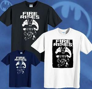Batman-T-shirt-New-The-Dark-Knight-Rises-Movie-Bane-Fire-Rise-Tee-Sizes-S-6XL