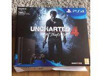 PS4 Slim 500gb Uncharted Bundle