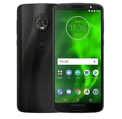 Motorola Moto G6 XT1925 GSM Unlocked AT&T T-Mobile | Verizon | 32GB | Very Good