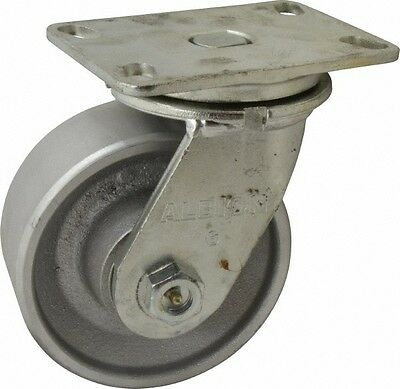 Albion 6 Inch Diameter X 2-12 Inch Wide Swivel Caster With Top Plate Mount ...