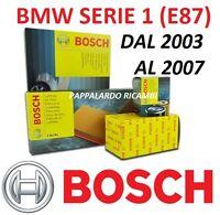 E81 E87 KIT FILTRI TAGLIANDO BMW SERIE 1 116i 90 KW  122CV N43B16A