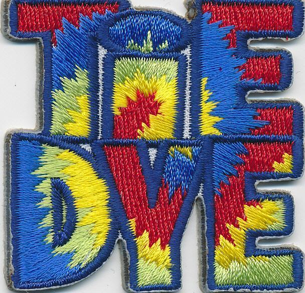 Girl Boy Cub TIE DYE Project Dying shirt Fun Patches Crests Badges SCOUT GUIDE
