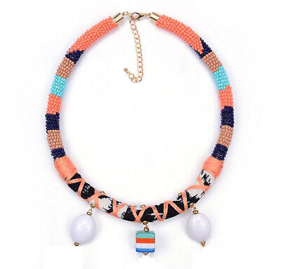 MARNI H&M Orange  Pendant Necklaces