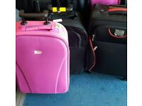 Assorted hand luggage