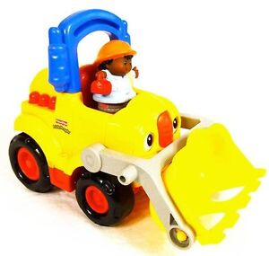Tractopelle sonore Little People Fisher-Price