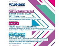 3 Wireless Tickets for Friday. Willing to swap for a Saturday ticket. if not £75 can negotiate.