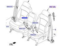 Hyundai H1 Seat Belt Buckle Assy Front 888414H000WK