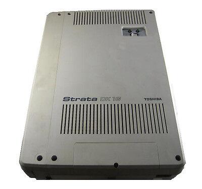Toshiba Strata Dk16 4X8  System With Kpsu16a Power Supply  One Year Warranty