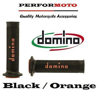DOMINO RR GRIPS BLACK  ORANGE TO FIT <em>YAMAHA</em> YZF1000 R1