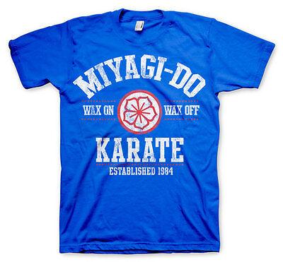 Mister Miyagi Do 1984 Karate Kid Dojo 80s Retro Männer Men T-Shirt Blue Blau - Mister Miyagi