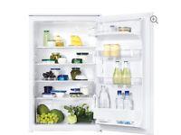 New & unused Zanussi integrated fridge