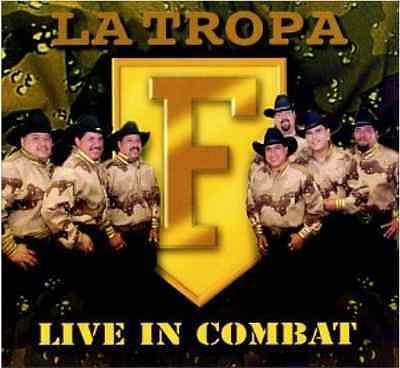 Tropa F  Live In Combat    New Factory Sealed 1997 Cd   Capital   Emi Latin