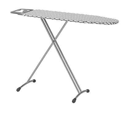 IKEA Dänka Tabla de Planchar,Mesa Planchado,Estación Blanco,120x37 CM,Planchar