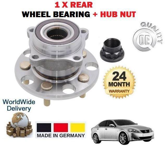 FOR Lexus IS200D IS220D IS250C IS250 2005-2013 NEW REAR WHEEL BEARING HUB KIT