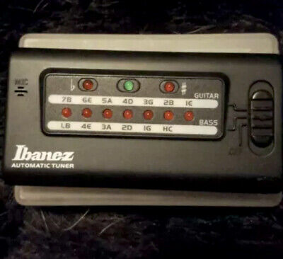ibanez Automatic Tuner - Digital Processing Guitar Tuner - In Case