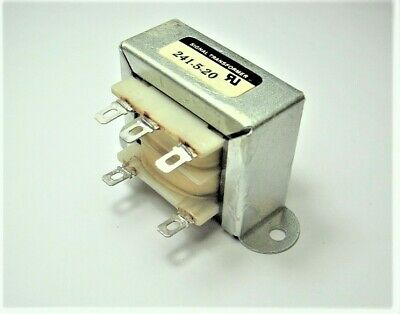 Signal Transformer 241-5-20 115v Primary With 20vct Output 600ma