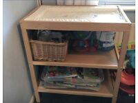 Changing table £20