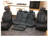 Audi a6 S line saloon leather seats set c7
