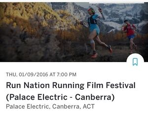 Run Nation Film Festival Canberra 1/9/16 Canberra City North Canberra Preview