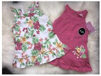 BNWT 2x Summer Dress Tops Age 12-18