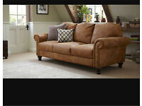 Australian outback leather sofa three seater dfs