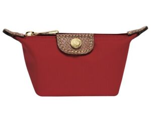 Longchamp change purse (red) - new condition