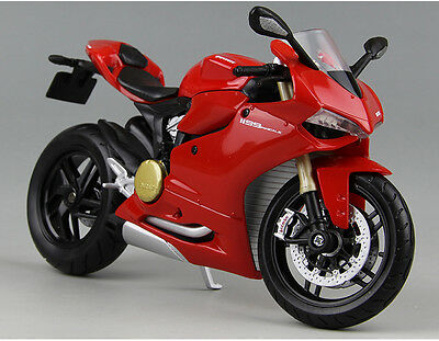 Alloy Maisto 1:12 Ducati 1199 Panigale Motorcycle Motor Bike Diecast model Toy