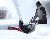*Offering* snow removal