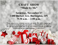 """Made by Me"" Craft Show"