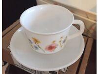 Pretty Corelle tea cup set from Canada