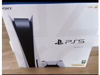 PS5 Disc Brand New