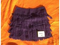 Dark Purple Skirt Size 8