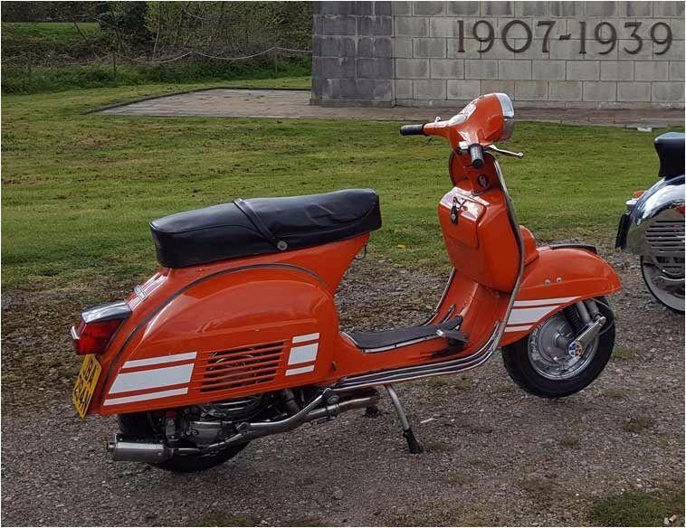 1975 vespa rally 200 femsa original british scooter. Black Bedroom Furniture Sets. Home Design Ideas
