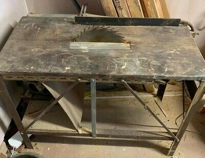 Vintage Saw Bench - Handmade - Full Working Order