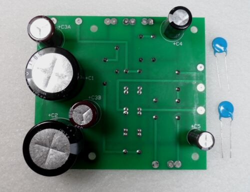 Swan 117C AC Power Supply Kit with New Capacitors, Resistors & Diodes, Assembled
