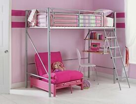 Brand New Metal High Sleeper Bed